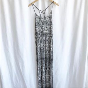 American Eagle Outfitters print maxi dress